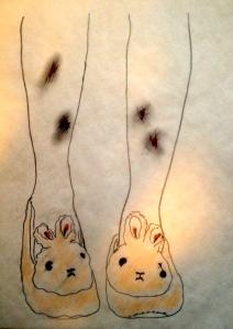 Bunny Slippers 1